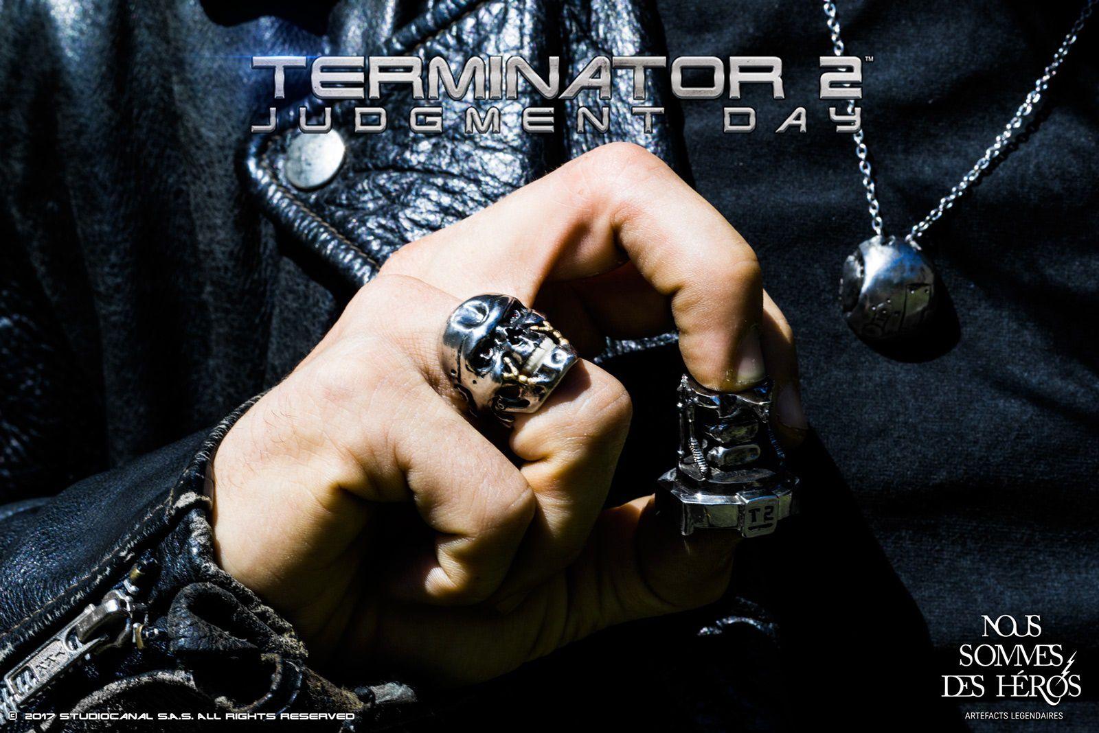 #GEEK : Nous Sommes Des Héros a lancé des bijoux Collector Terminator 2 ! #NSDH