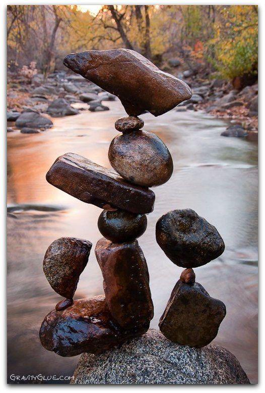 L'équilibre des pierres de Michael Grab.