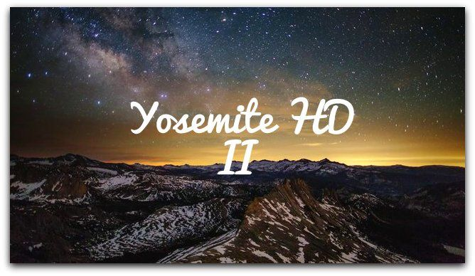Yosemite HD II
