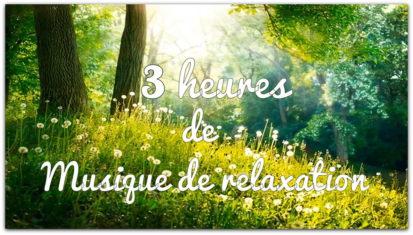 musique relaxation 3 heures