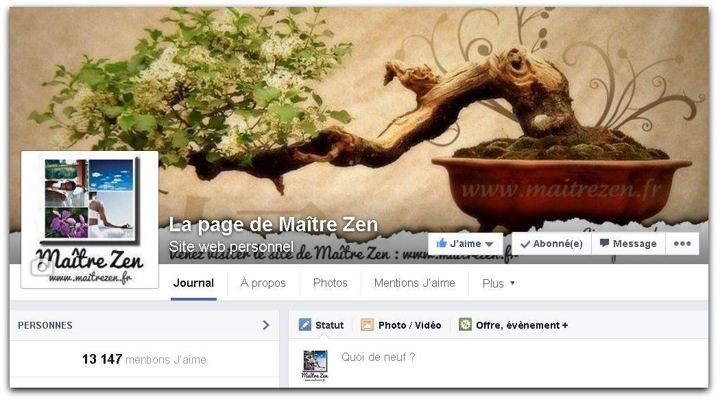 Devenez fan de ma page Facebook!