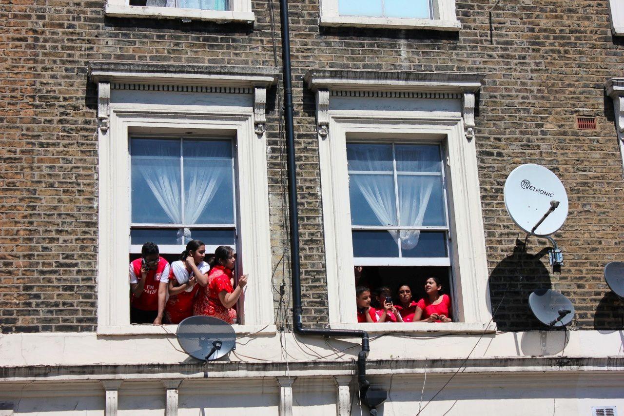 Toute la famille derrière Arsenal