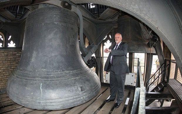 Big Ben et son gardien, Steve Jaggs : www.telegraph.co.uk