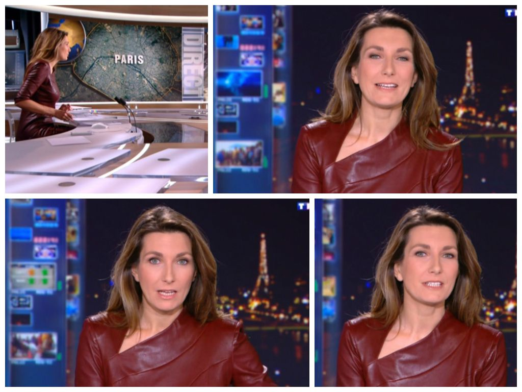 2013 12 20 - 20H00 - ANNE-CLAIRE COUDRAY - TF1 - LE 20H