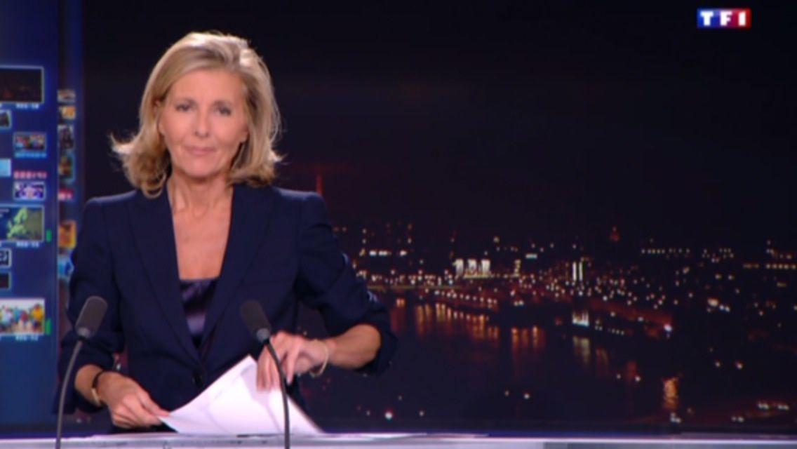 20H00 - CLAIRE CHAZAL - TF1 - LE 20H