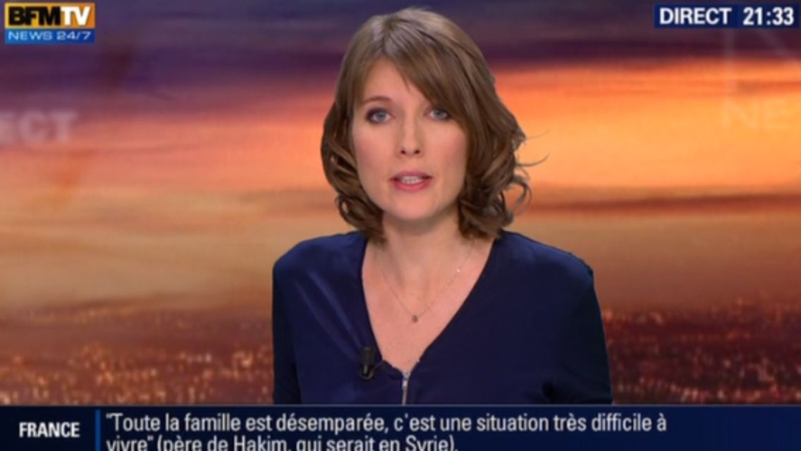 21H30 - LUCIE NUTTIN - BFM TV - WEEK-END 360