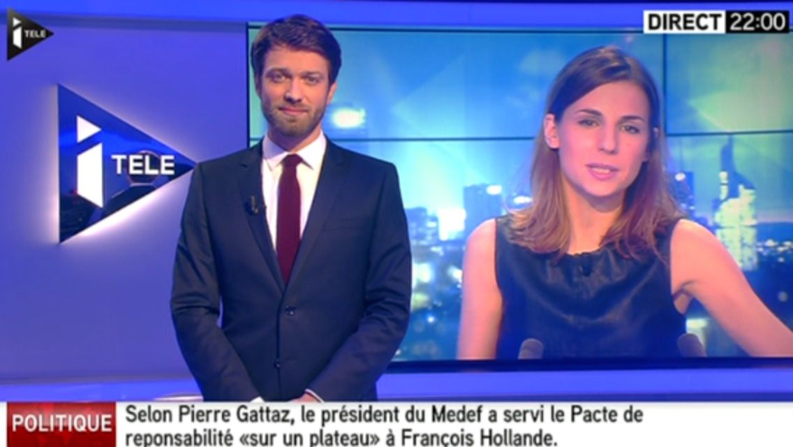 22H00 - ALICE DARFEUILLE - ITELE - INTEGRALE WEEK-END