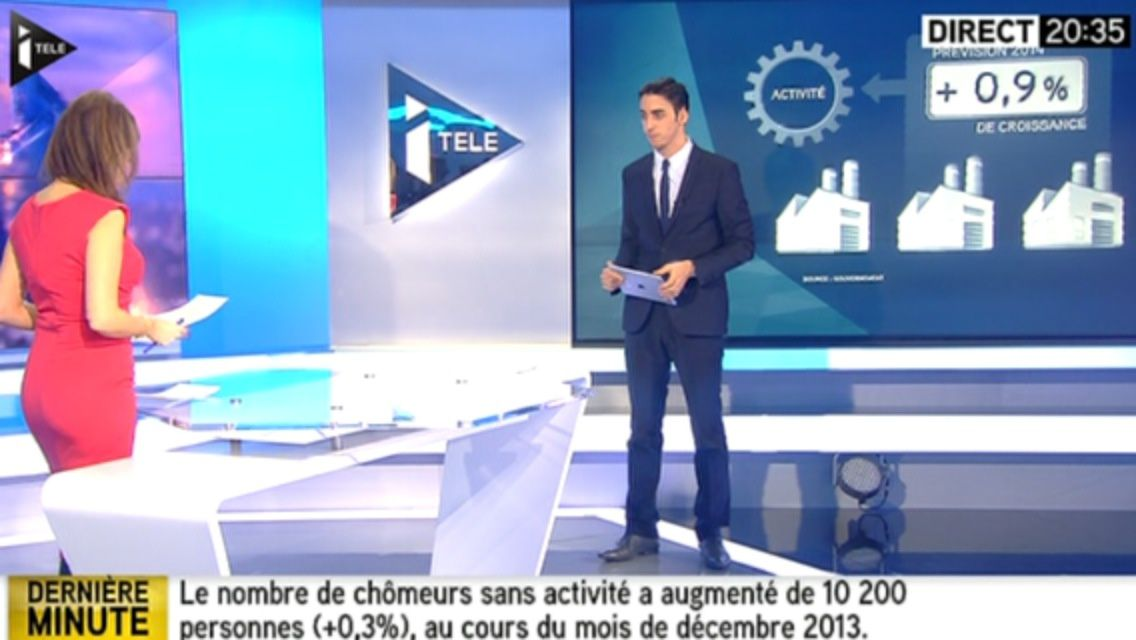 20H30 - LEA SALAME - ITELE - 100% INFO
