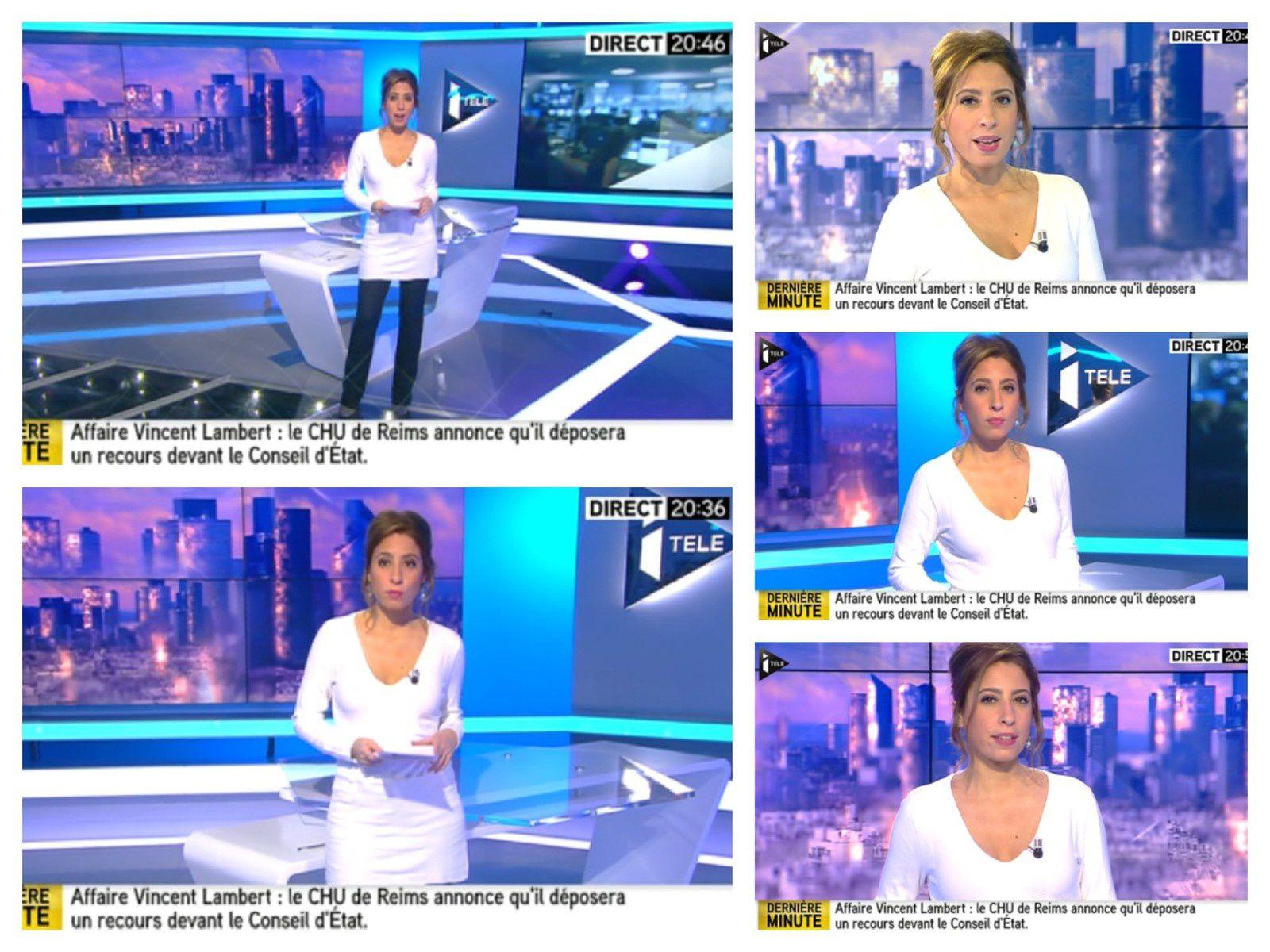 2014 01 29 - 20H30 - LEA SALAME - ITELE - 100% INFO