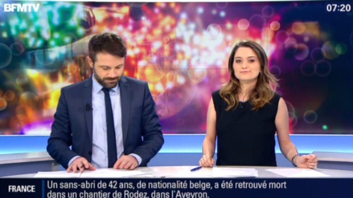 31/12/2014 07:00 CELINE MONCEL - BFM TV - PREMIÈRE ÉDITION