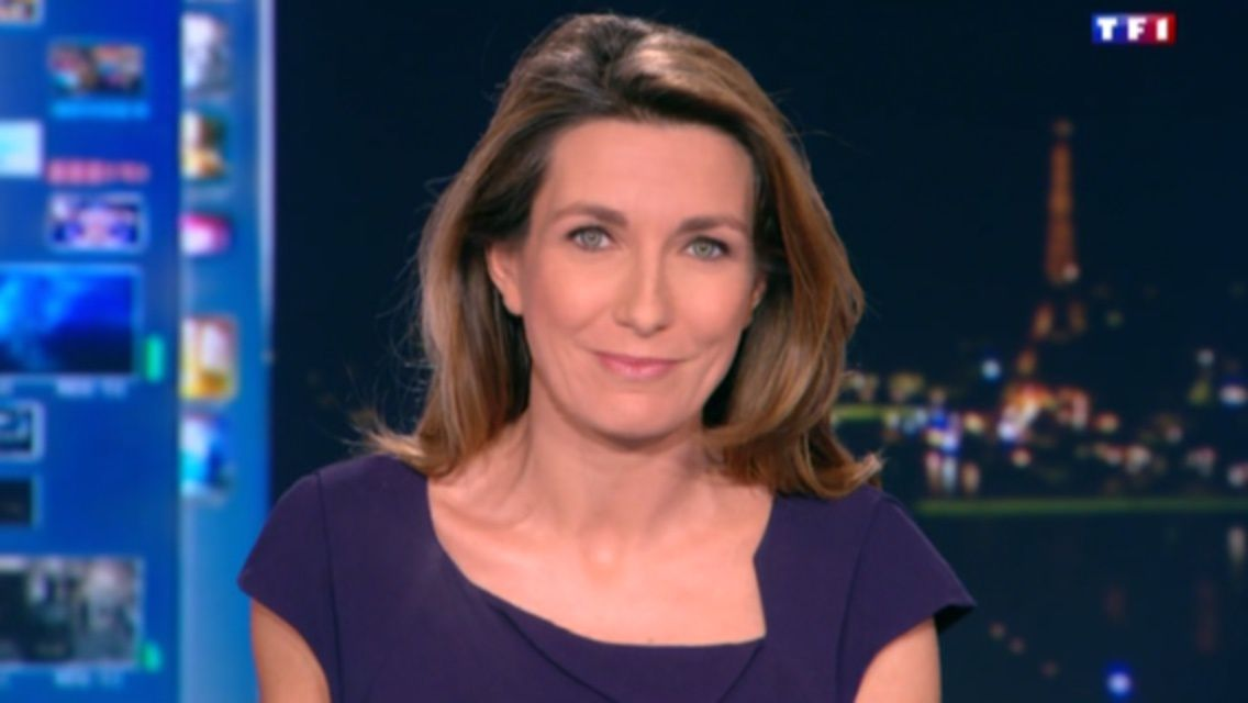 02/01/2014 20:00 ANNE-CLAIRE COUDRAY - TF1 - LE 20H