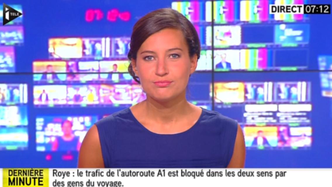2015 08 29 - ALICE ROUGERIE pour LA MATINALE WE sur i&gt&#x3B;tele