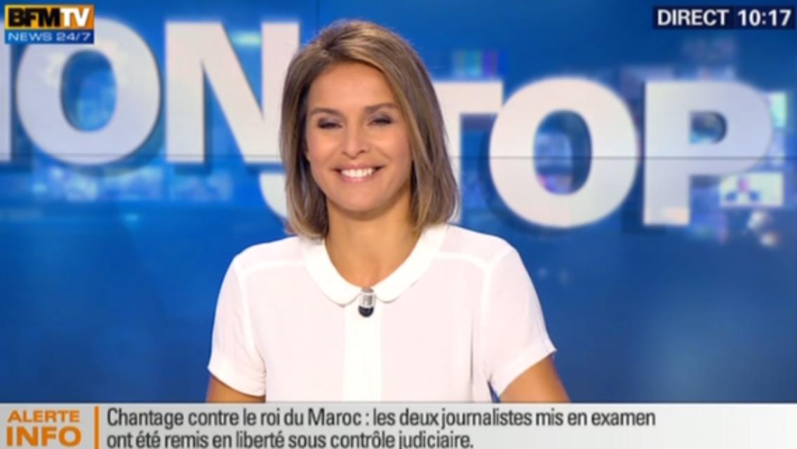 2015 08 29 - STEPHANIE DE MURU pour NON-STOP sur bfm tv