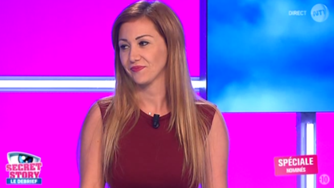 2015 09 04 - JULIE DEMI FINALISTE SECRET STORY 8 invitée de SECRET STORY 9 LE DEBRIEF sur nt1