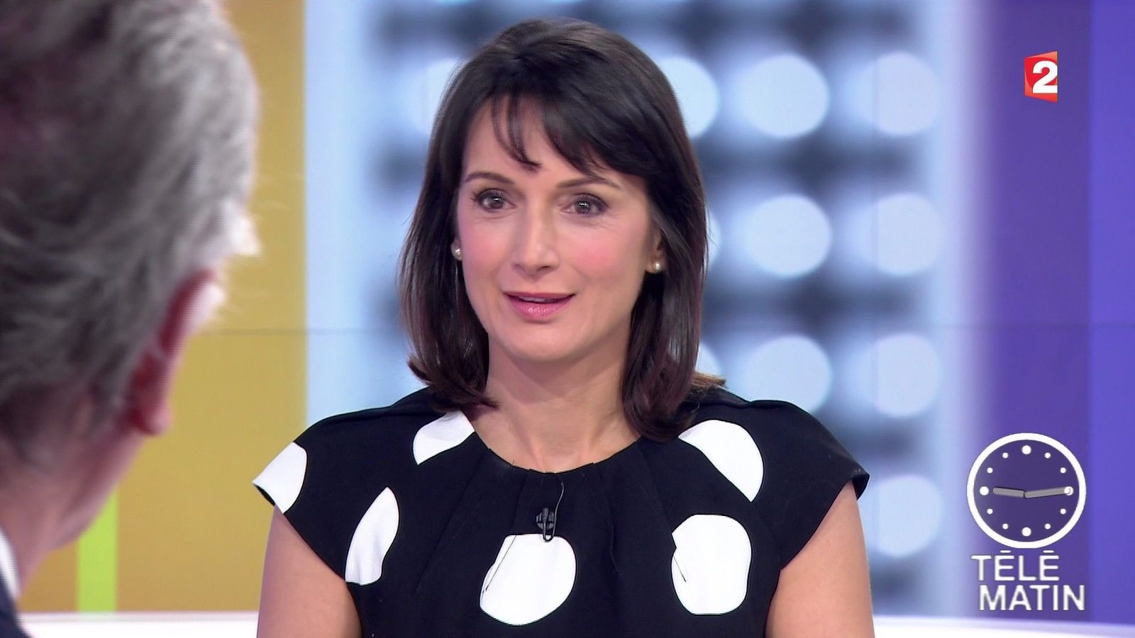 laurence ostoloza dans telematin du 2016 03 23 sur france. Black Bedroom Furniture Sets. Home Design Ideas