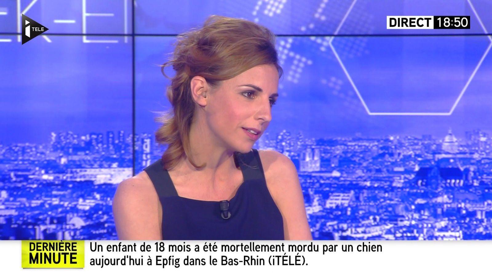 ALICE DARFEUILLE pour INTEGRALE WEEK-END le 2016 05 06 sur i>tele