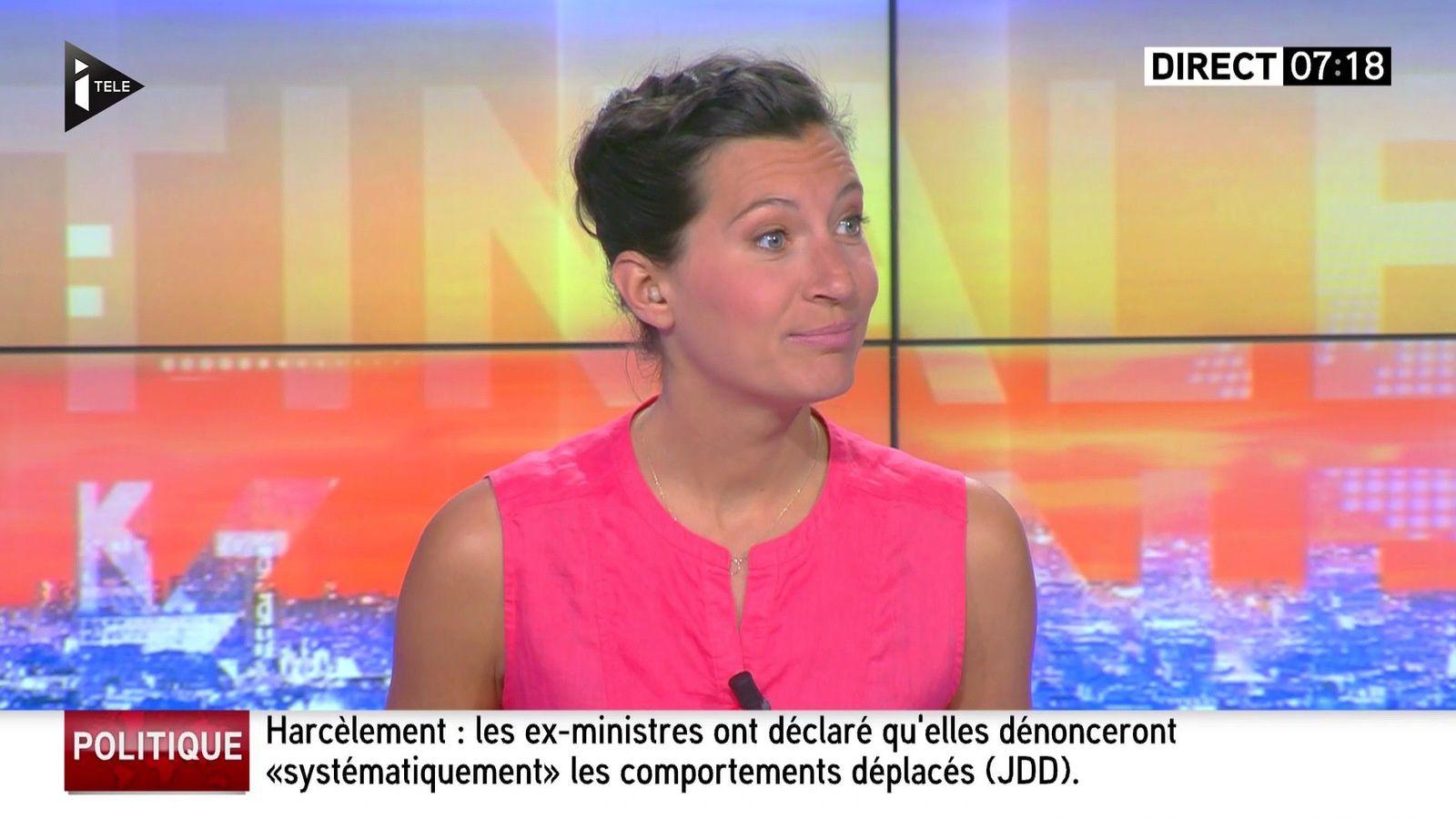 ALICE ROUGERIE pour LA MATINALE WEEK-END du 2016 05 15 sur i&gt&#x3B;tele