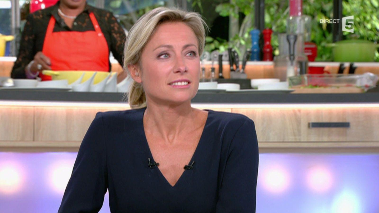 ANNE-SOPHIE LAPIX @aslapix @cavousf5 ce soir @France5tv #vuesalatele