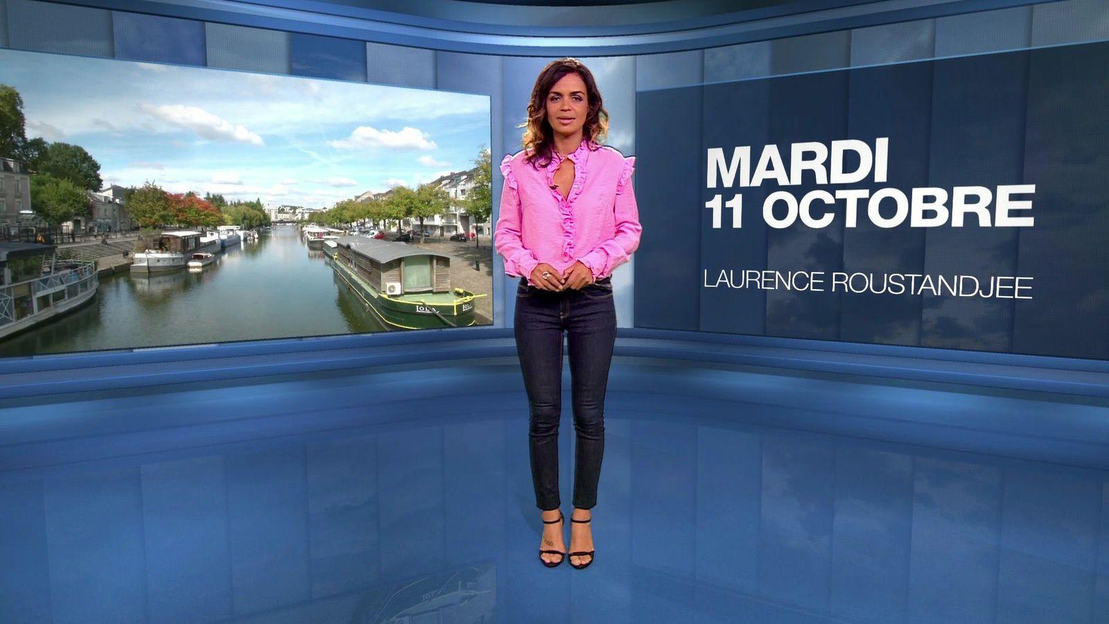 LAURENCE ROUSTANDJEE @LoRoustandjee ce soir pour LA METEO @M6 #vuesalatele