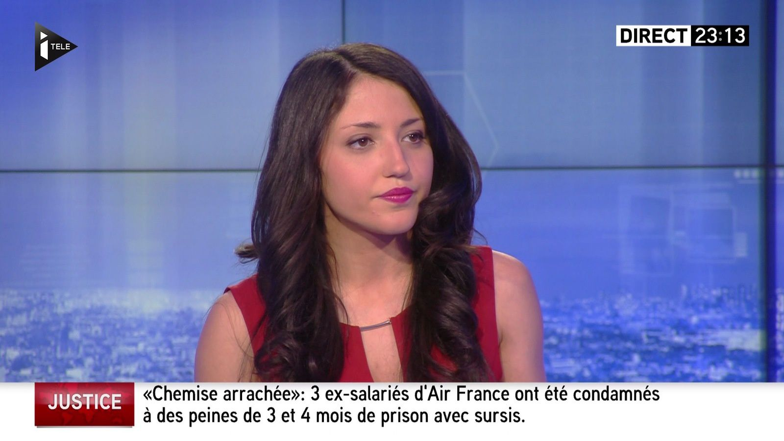 � SONIA CARNEIRO ��� @SoniaaCarneiro pour LES SPORTS @itele #vuesalatele