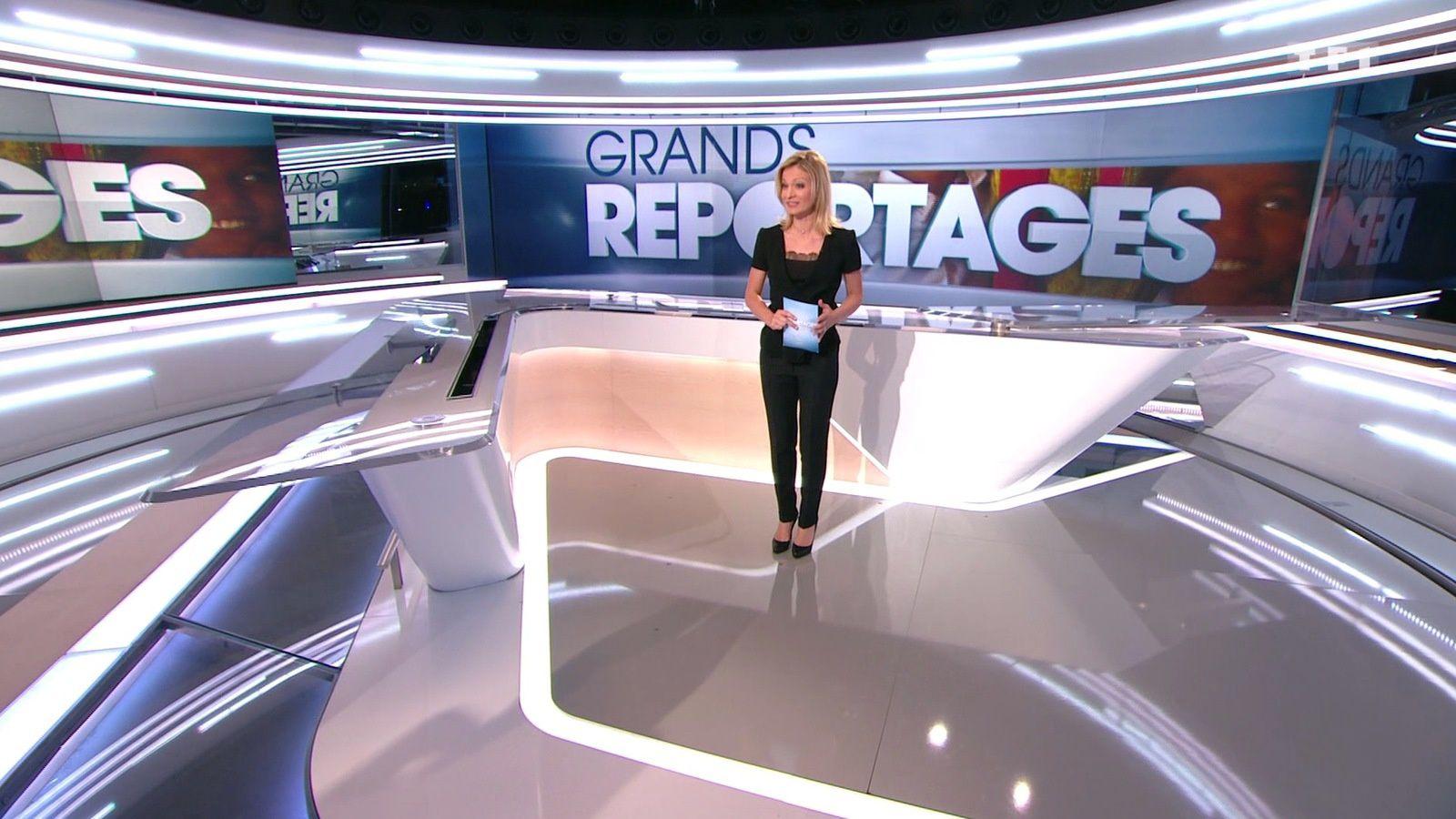 �4 ✨ AUDREY CRESPO-MARA ✨ @audrey_crespo ce midi @TF1 pour GRANDS REPORTAGES #vuesalatele
