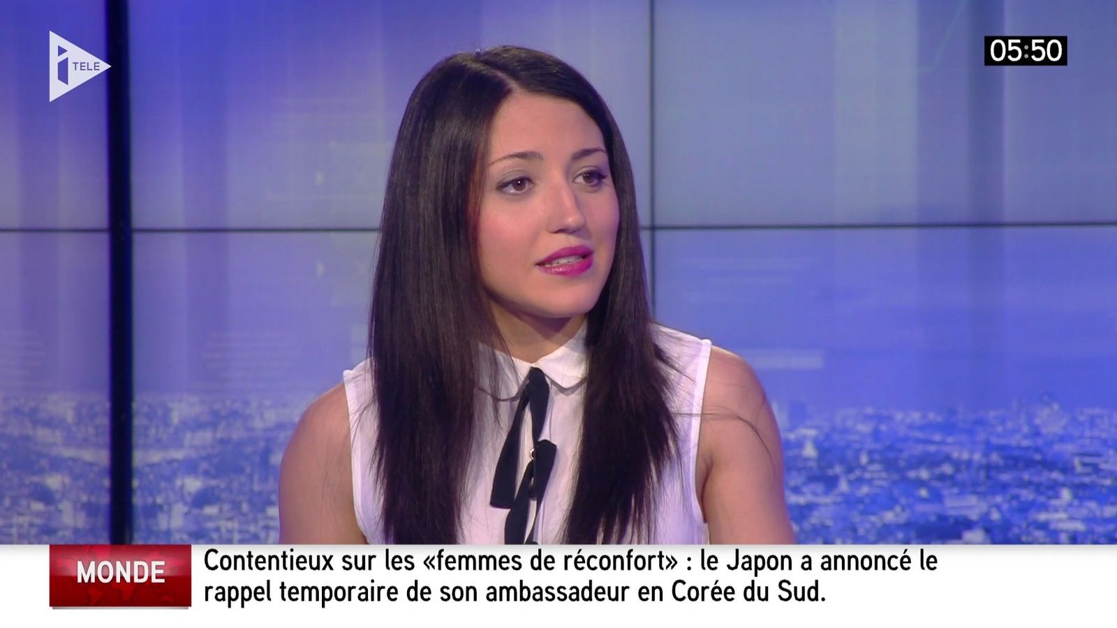 �5 SONIA CARNEIRO ��� @SoniaaCarneiro pour LES SPORTS cette nuit @itele #vuesalatele