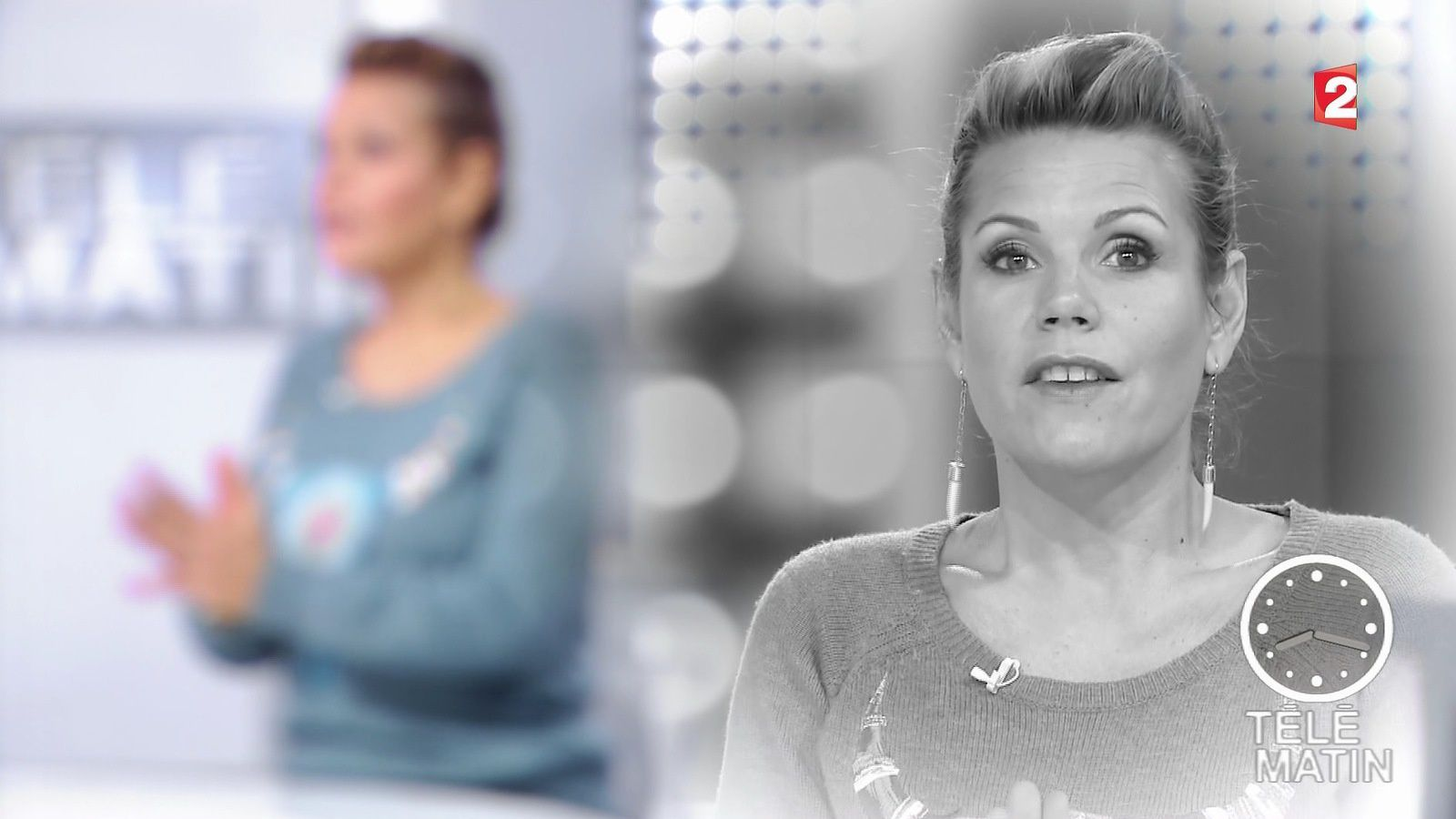 �14 LAURA TENOUDJI @lauratenoudji ce matin @telematin @France2tv #vuesalatele