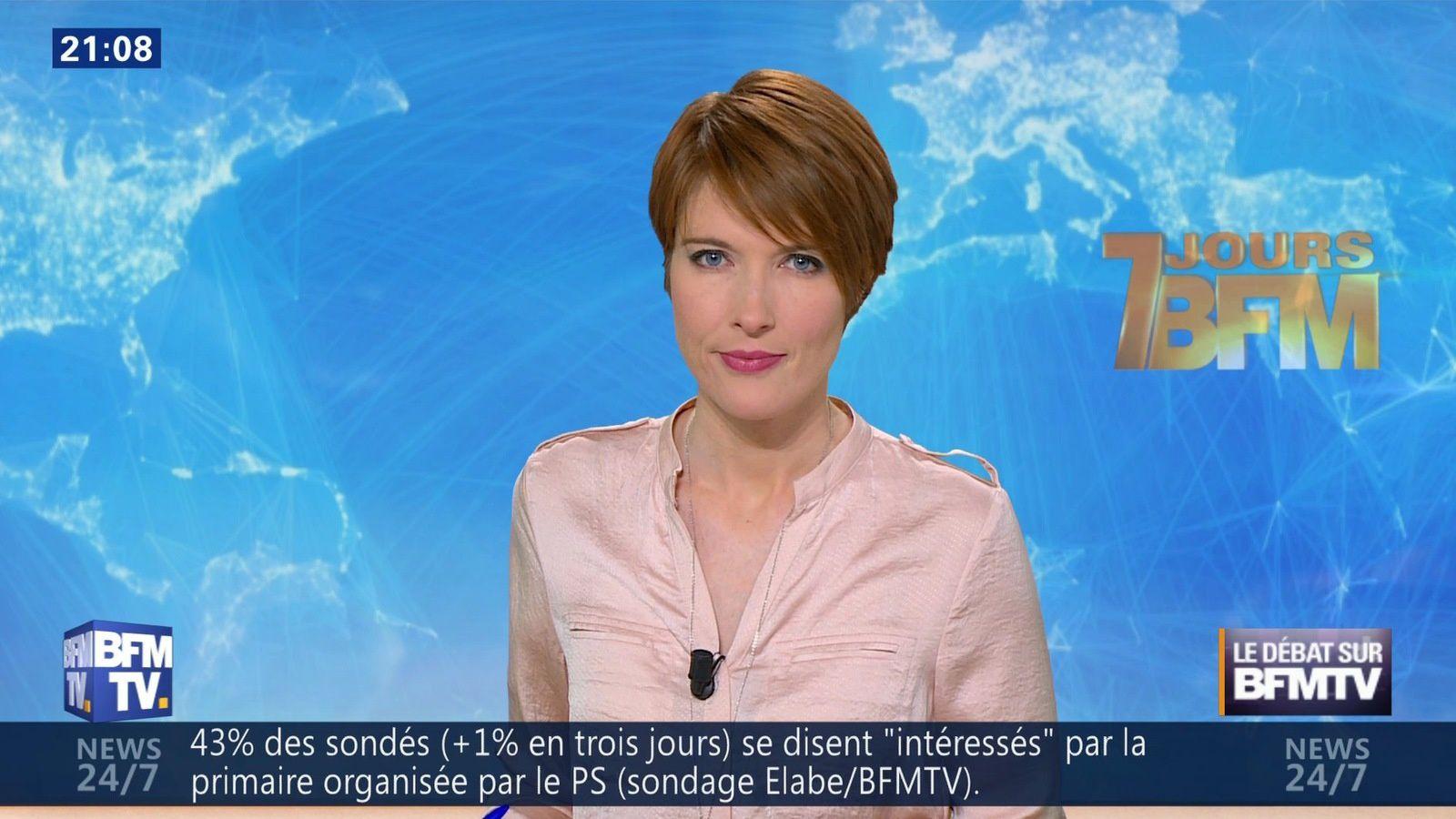 �8 LUCIE NUTTIN @LucieNuttin @JohannaCarlosD8 ce soir @bfmtv #vuesalatele