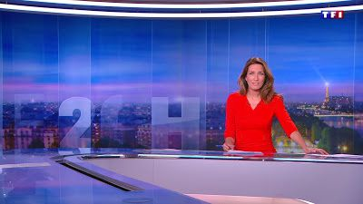 �25 ANNE-CLAIRE COUDRAY @ACCoudray @TF1 @TF1LeJT pour LE 20H WEEK-END #vuesalatele