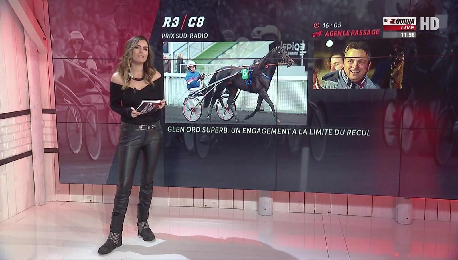 �7 AMELIE BITOUN ❤️❤️❤️❤️❤️ @ameliebitoun ❤️❤️❤️❤️❤️ ce matin @Equidia_Live � #unjourauxcourses #vuesalatele