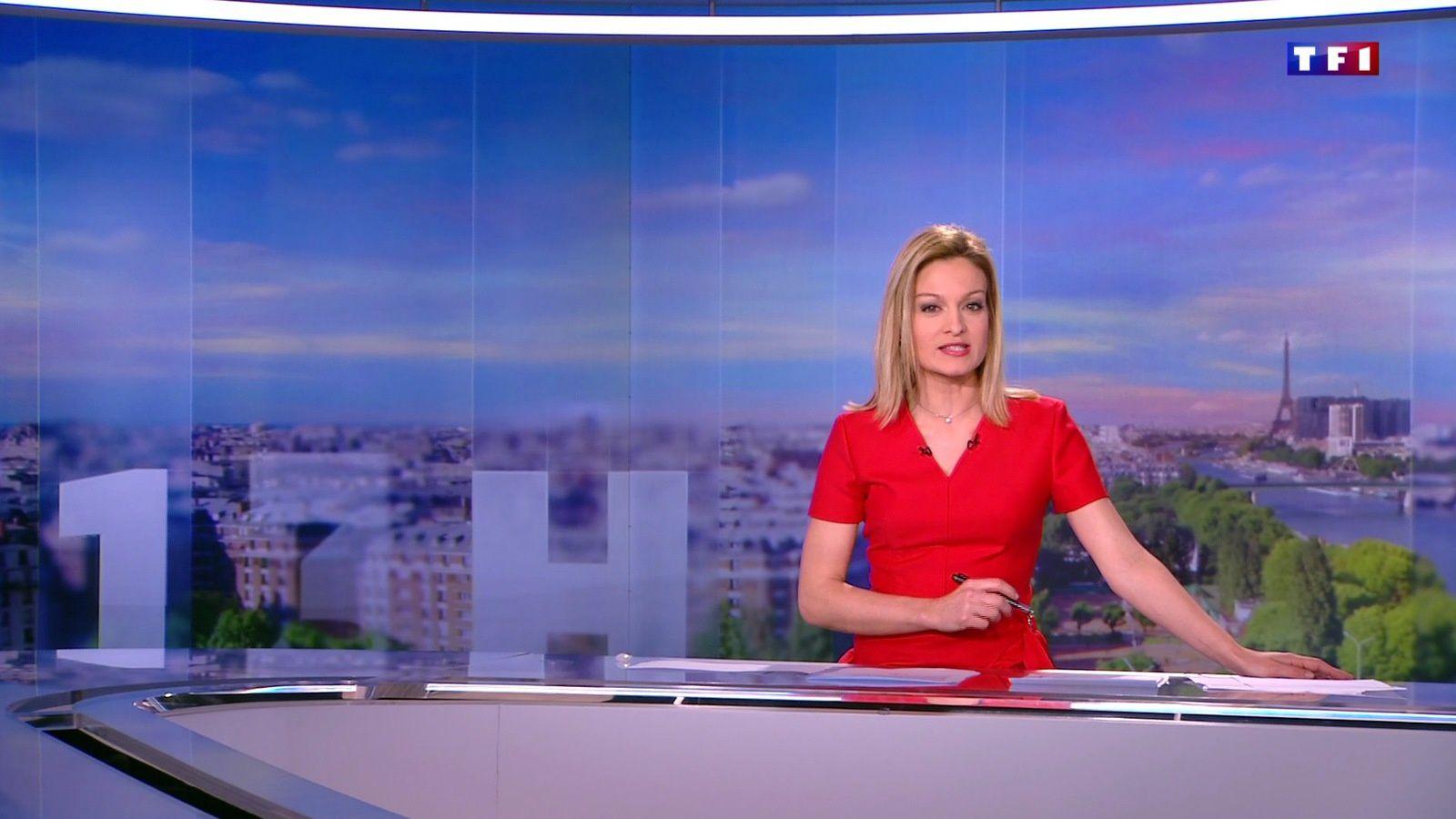�9 AUDREY CRESPO-MARA ��� @audrey_crespo @TF1 @TF1LeJT pour LE 13H WEEK-END #vuesalatele