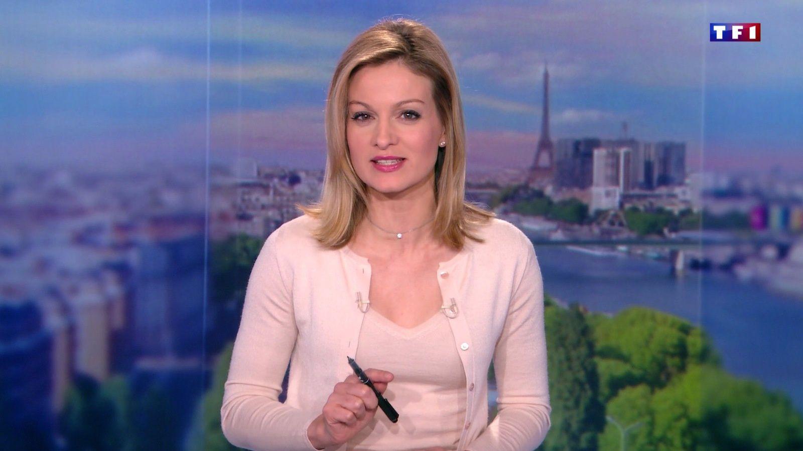 �12 AUDREY CRESPO-MARA ��� @audrey_crespo @TF1 @TF1LeJT pour LE 13H WEEK-END #vuesalatele