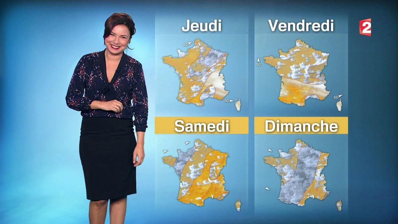 �2 �1 ANAIS BAYDEMIR pour LA METEO ce soir @France2tv #vuesalatele