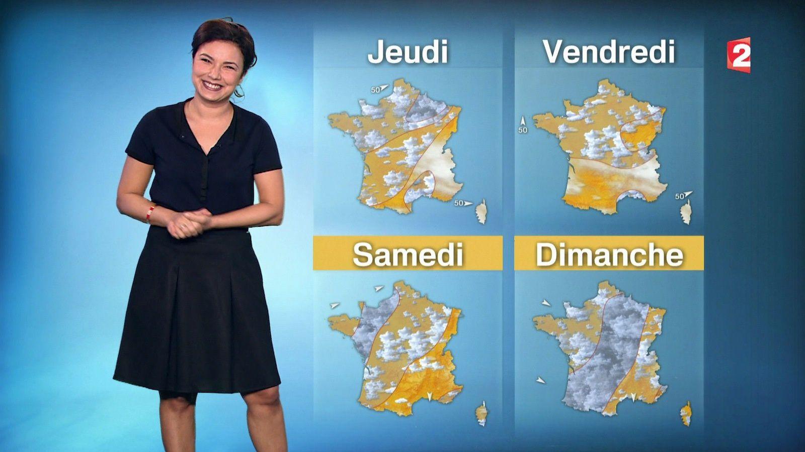�2 �1 ANAIS BAYDEMIR pour LA METEO ce MIDI @France2tv #vuesalatele