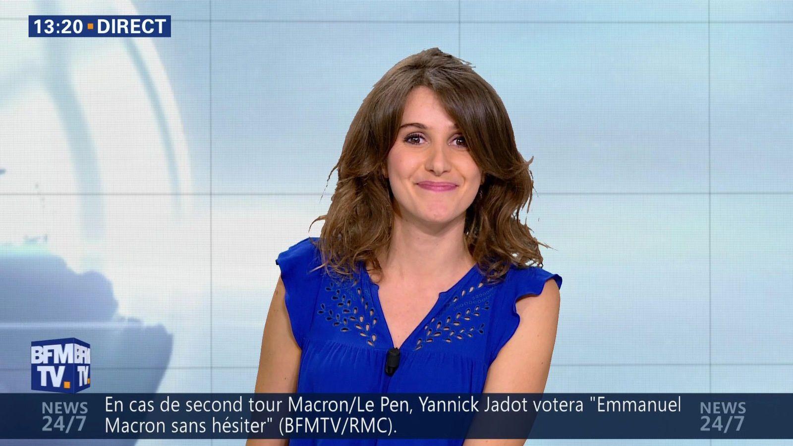 �9 �2 FANNY AGOSTINI @Fanny_Agostini pour LA METEO cet apm @bfmtv #vuesalatele