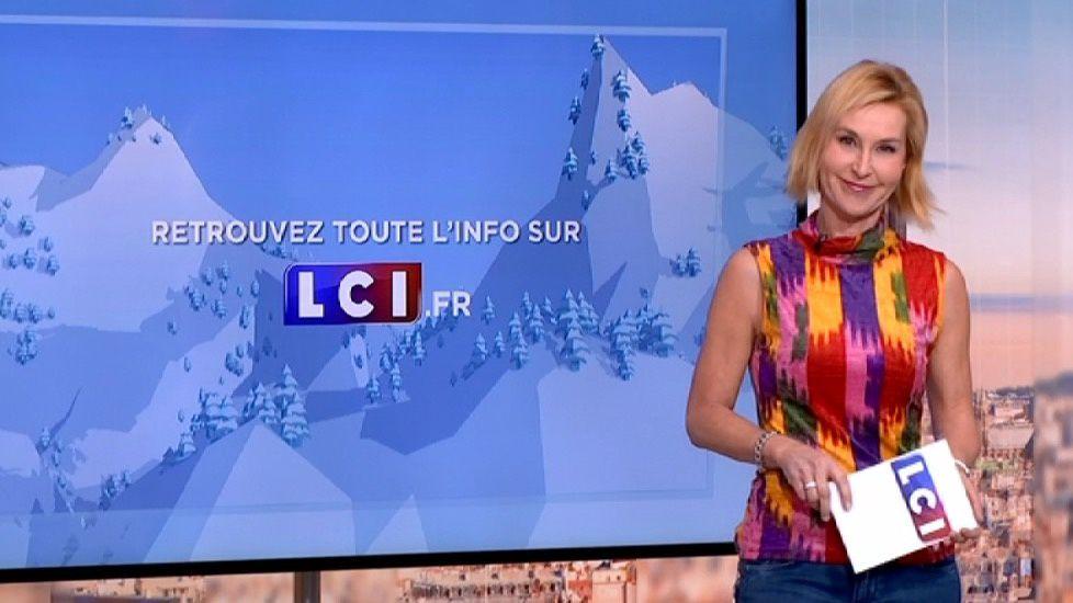 �7 �1 KARINE FAUVET @KARINEFAUVET pour LA METEO et LA METEO DES NEIGES @LCImatin @LCI ce matin #vuesalatele