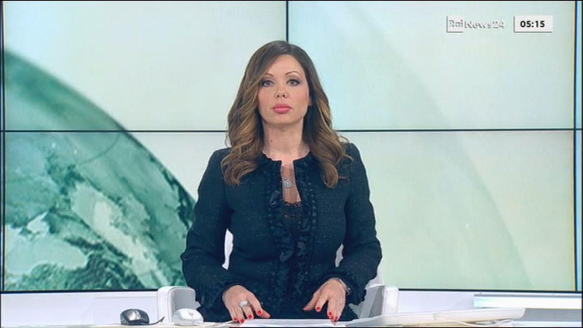JOSEPHINE ALESSIO pour LES NEWS du 2016 03 31 sur LA RAI UNO ��