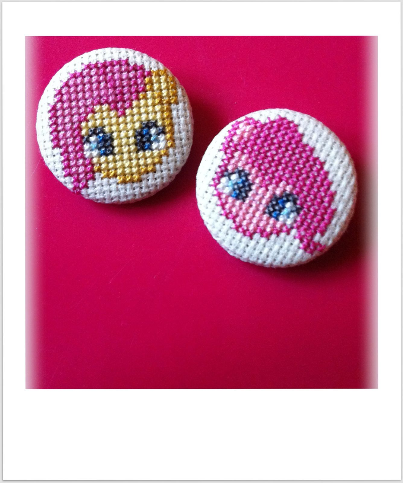 Badges brodés &quot&#x3B;Petit Poney&quot&#x3B;