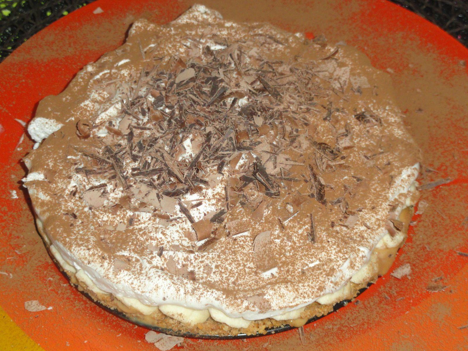 Banoffée-Pie/ Dessert Anglais