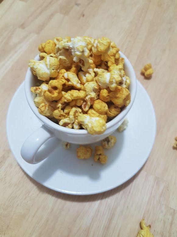 Pop corn aux épices