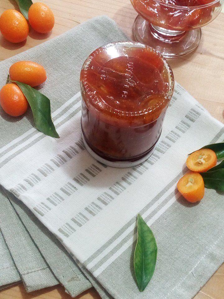Confiture de Kumquat aux 2 sucres et jus d'orange / Recette Libanaise (Tchuina)