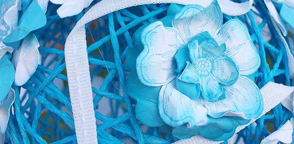 Blog Hop des Créatives en avril: Les fleurs sont à l'honneur