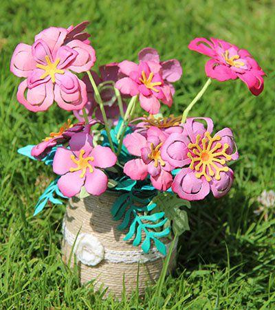 Des fleurs pour la paix!