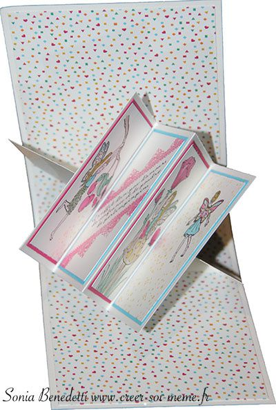 Techniques 101 Blog Hop - Fun Fold – Z card