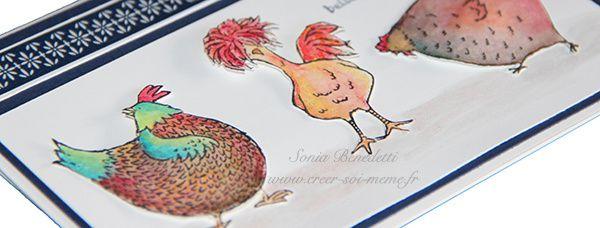 Des poules encore et encore