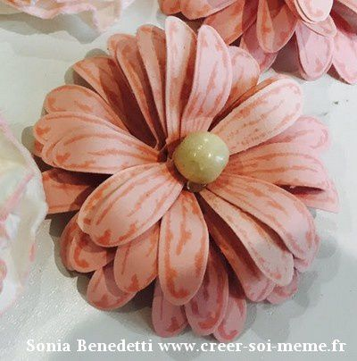 Tutoriel Adorable marguerite