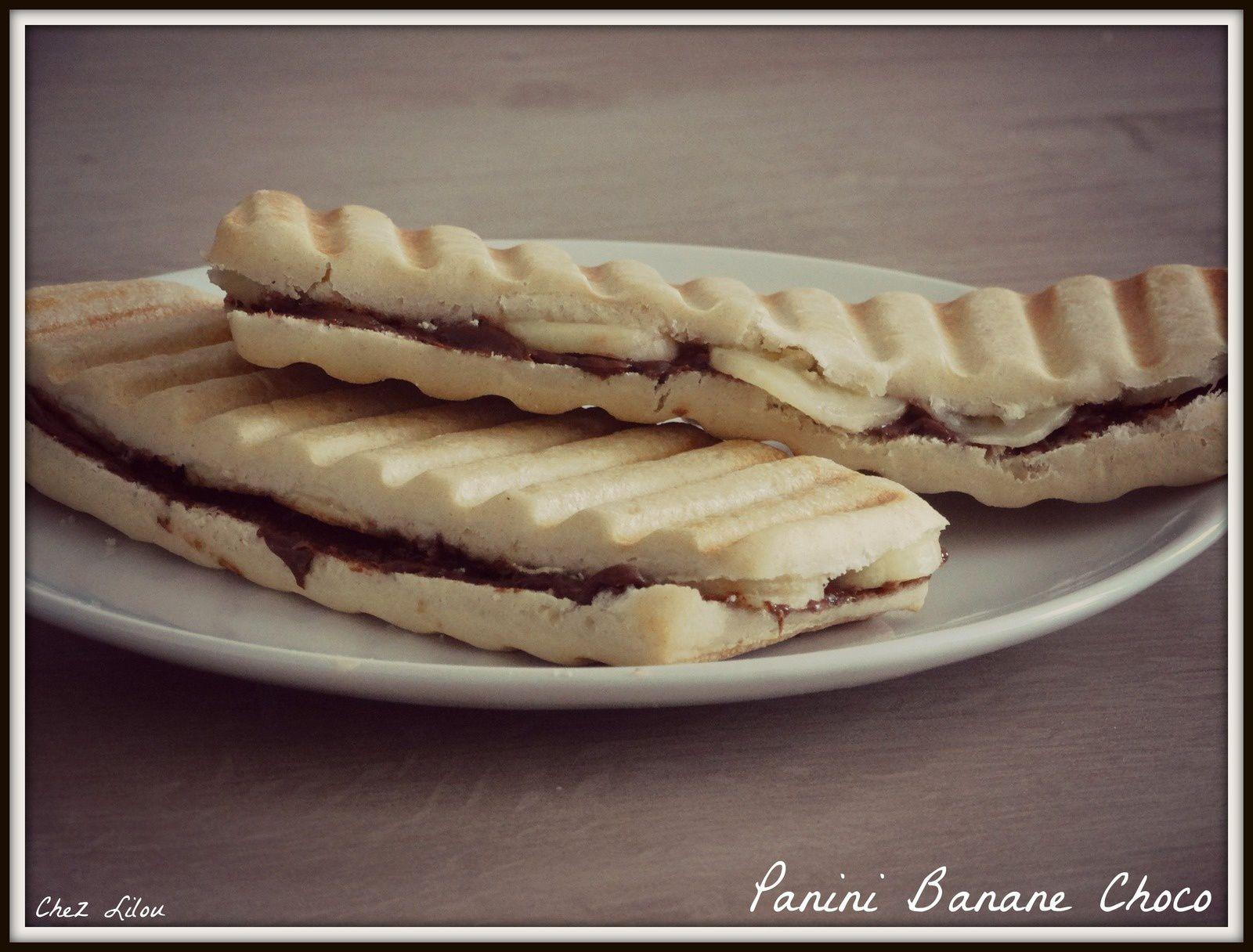 Panini Banane Choco
