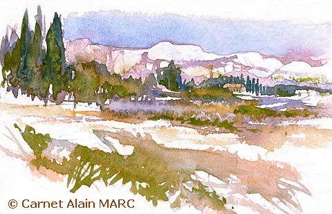 Petits villages blottis au cœur de la garrigue, paysages parfumés, collines aux falaises ocre et blanches font partie des thèmes les plus séduisants de ce stage qui illumine de lumière chaque printemps pictural au milieu de la garrigue parfumée…