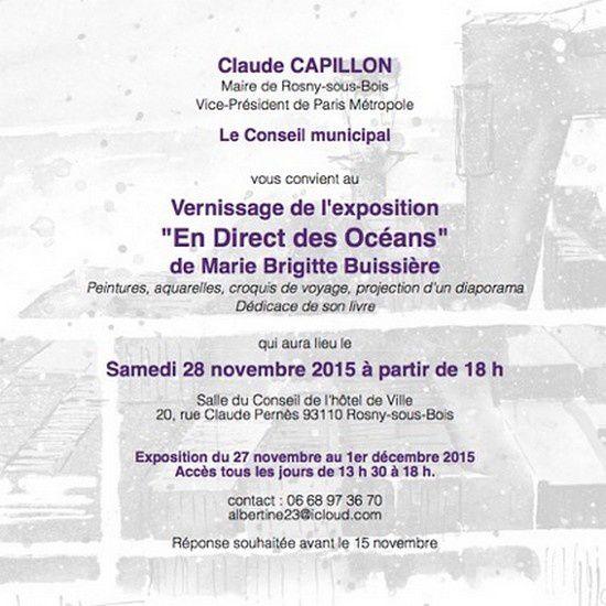 Belle exposition, beau livre, belle réussite de Marie-Brigitte BUISSIERE