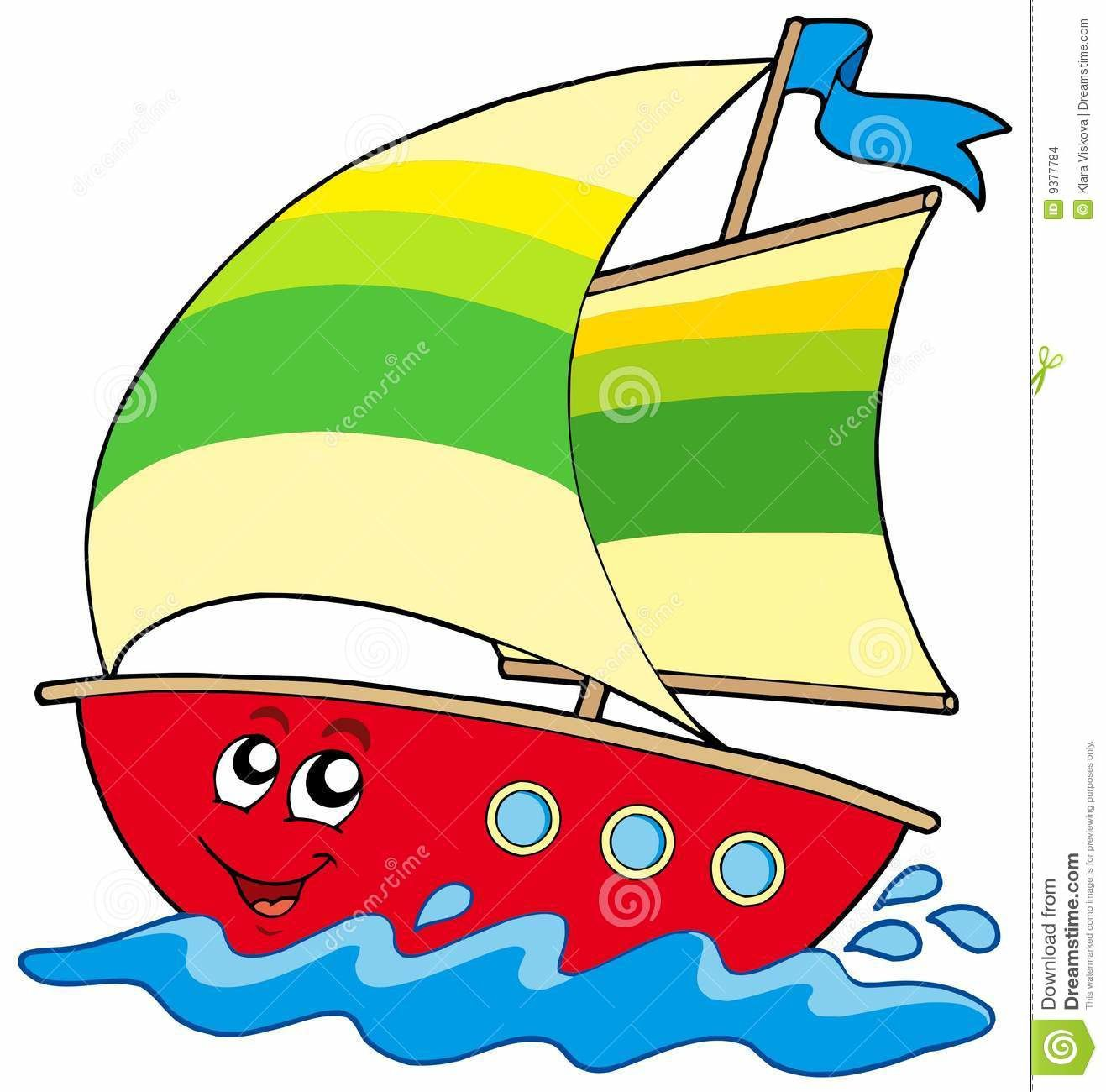 Bateau sur l 39 eau nounou laeti et ses petits - Dessin d un bateau ...